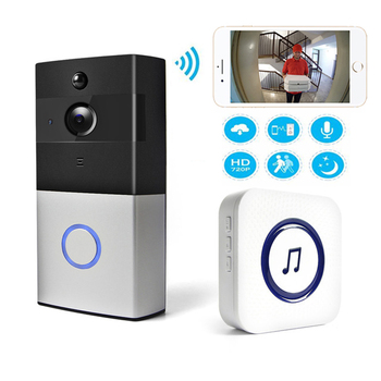 IP Video Intercom WI-FI Video Door Phone Door Bell WIFI Doorbell Camera For Apartments IR Alarm Wireless Security Camera 1