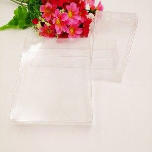 Image 5 - 50 pcs 2 xWxH Caixa De Pvc Transparente Caixas De Plástico Transparente De Armazenamento de Jóias Caixa de Presente de Casamento/Natal/Doces/ partido Para a Caixa de Embalagem do Presente