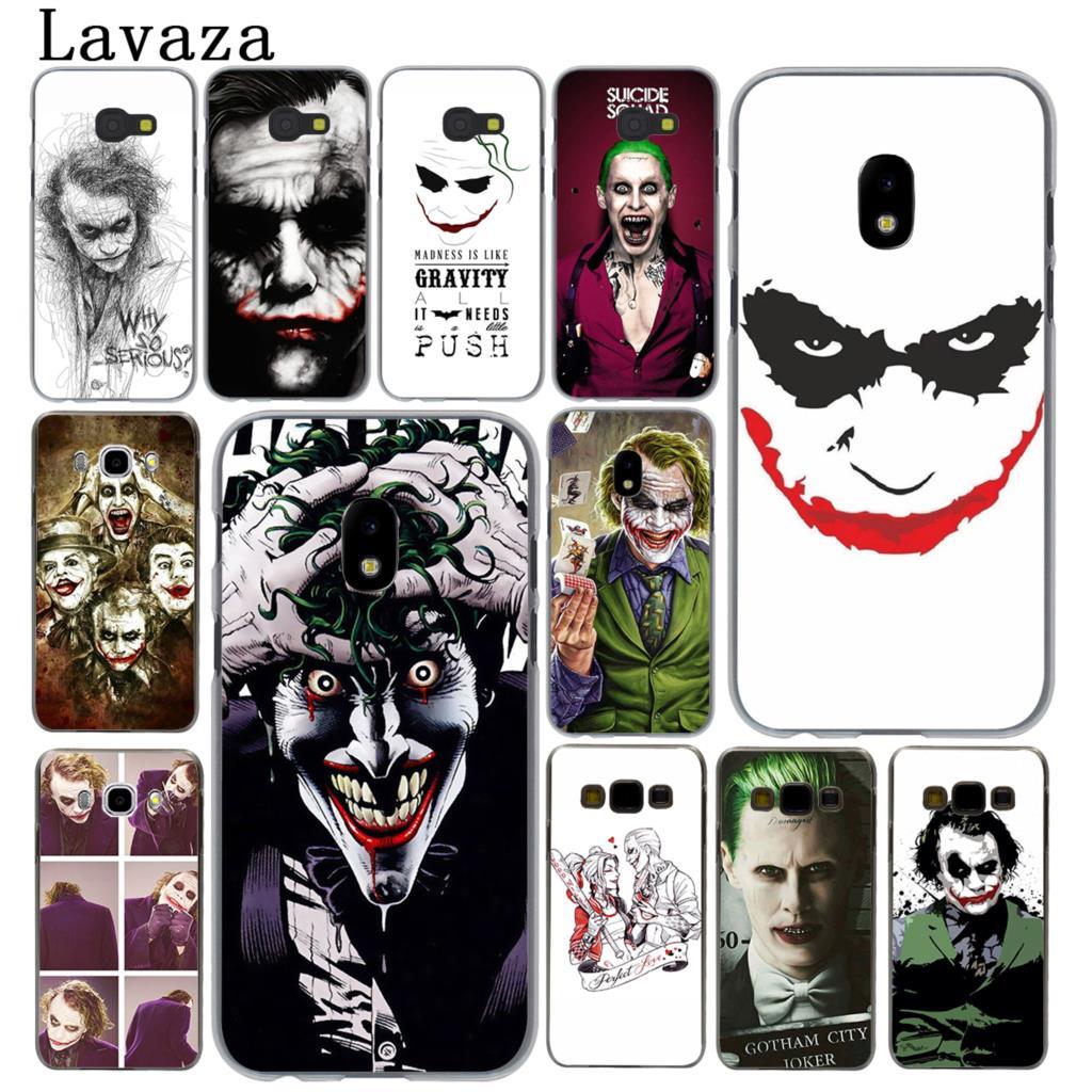 Lavaza dc Batman Dark Knight Joker Karta Hard Phone Case for Samsung Galaxy J5 J1 J2 J3 J7 2017 2016 2015 2018 J3 J5 Prime Cover