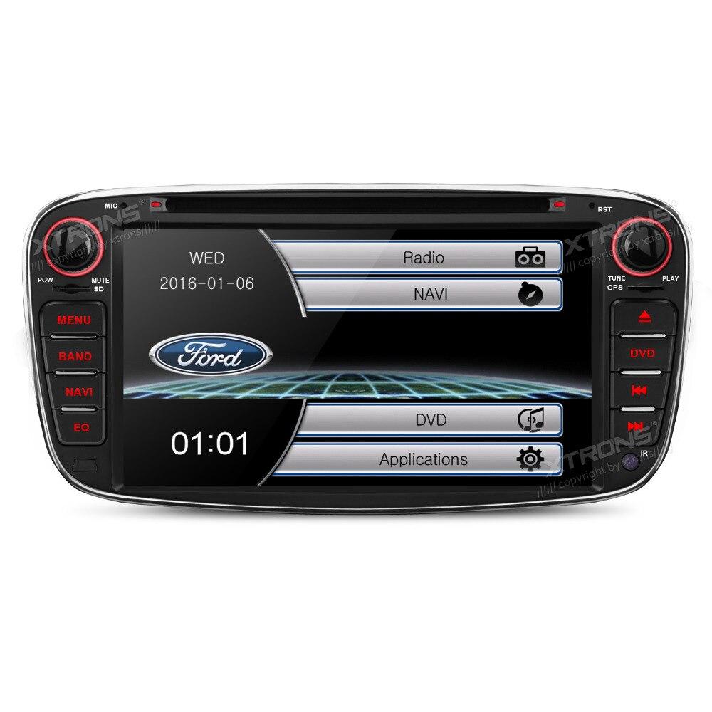 7 HD Radio 2 din Car DVD Player GPS Navigation For Ford Focus II Mondeo C-Max S-Max 2008 2009 2010 2011 / Galaxy II Kuga