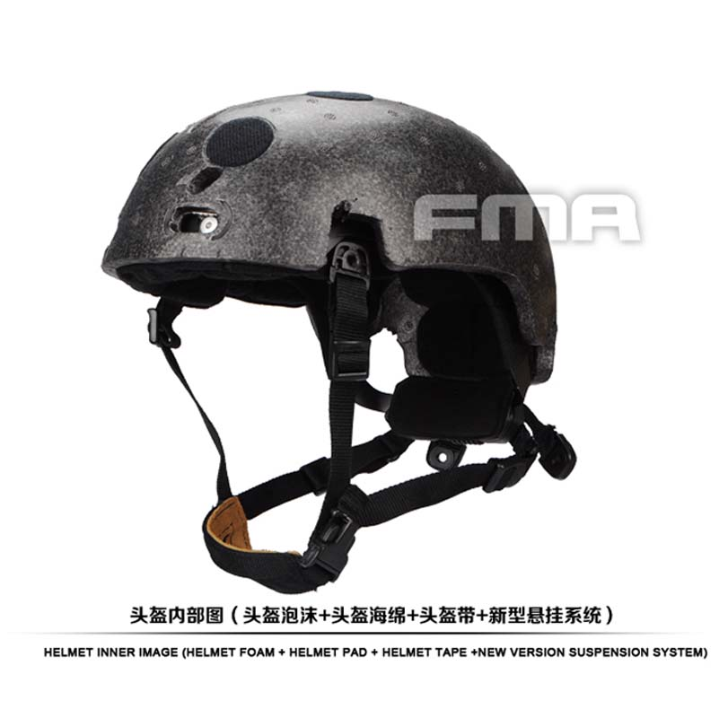 FMA Free Shipping New Helmet Suspension System and high level Memory Pad Foam for Ballistic helmet