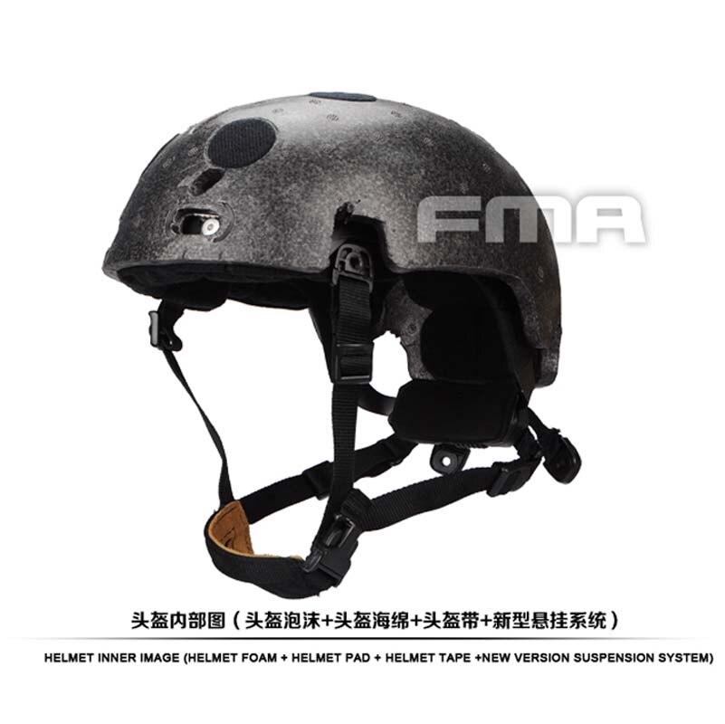 FMA New Helmet Suspension System and high level Memory Pad Foam for Ballistic helmet BK/DE/FG TB1050 Free Shipping электрочайник de longhi kbi2000 bk