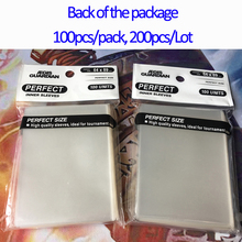 Perfect Size Card Transparent Sleeves Trading Fit Sleeve for board game trading cards