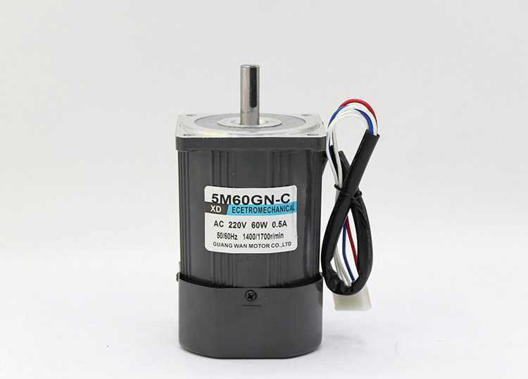AC220V 50HZ 60W 1400/2800RPM Permanent Magnet Speed Control Motor Suitable for mechanical equipment, power tools,DIY power,etc. ac220v 50hz 25w 1400 2800rpm permanent magnet speed control motor suitable for mechanical equipment power tools diy power etc