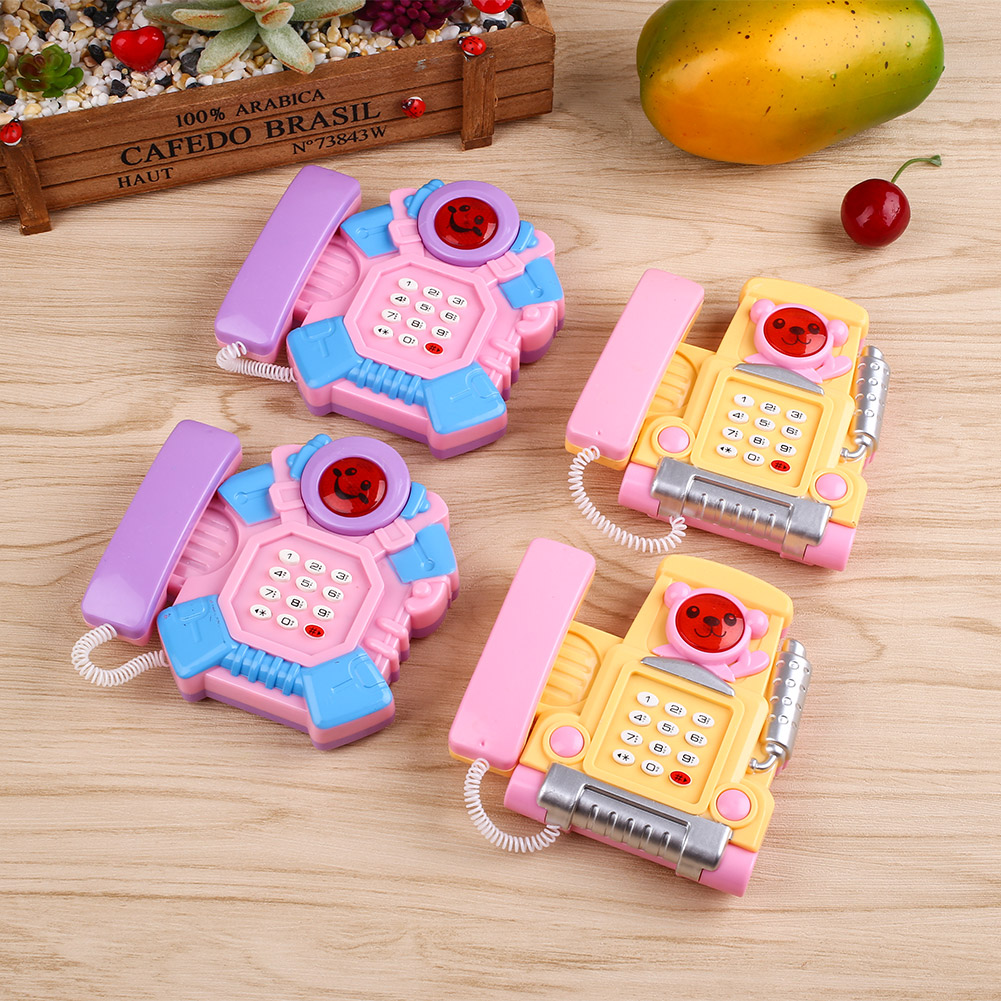 Creative Developing Intelligence Educational Learing Baby Musical Phone Toy