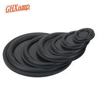 GHXAMP Rubber Woofer Vibration Membrane Bass Radiator Passive Radiator Speaker 30.5MM 40MM 50MM 75MM 85MM NEW 2PCS