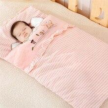 Детские осенние и зимние хлопковые спальные мешки, портативный спальный мешок для детей, Детский спальный мешок для холодной погоды