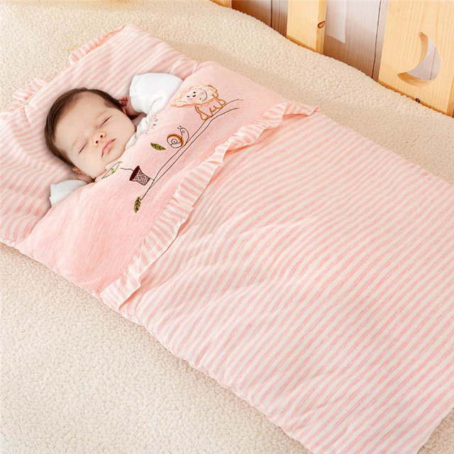 Children Fall And Winter Cotton Sleeping Bags Portable Bag For Sleep In A
