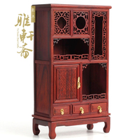 Mahogany furniture model red rosewood miniature furniture a miniature furniture wooden cabinet antique ornaments