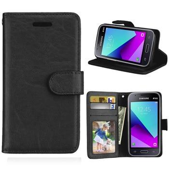 Portfel na karty odwróć PU skóra 4.0dla Samsung Galaxy j1 Mini Prime etui do Samsung Galaxy j1 Mini Prime telefon komórkowy tylna okładka przypadku