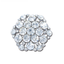 Hot Sale The Alloy Crystal Brooch Rhinestone Brooches Metal  Dress Accessories  Pins For Girls X1311