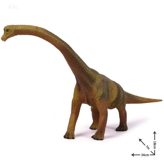 brachiosaurus jurassic park simulation dinosaur animal world toy