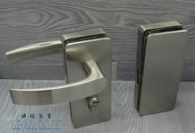 HAIFULE] Hafele brand exterior double door handle glass door glass ...