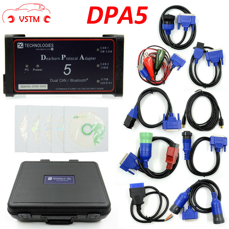 DHL Free 2017 Professional DPA5 Dearborn Portocol Adapter 5 Heavy Duty Truck DPA 5 (Without Bluetooth)as TDK Truck DPA5