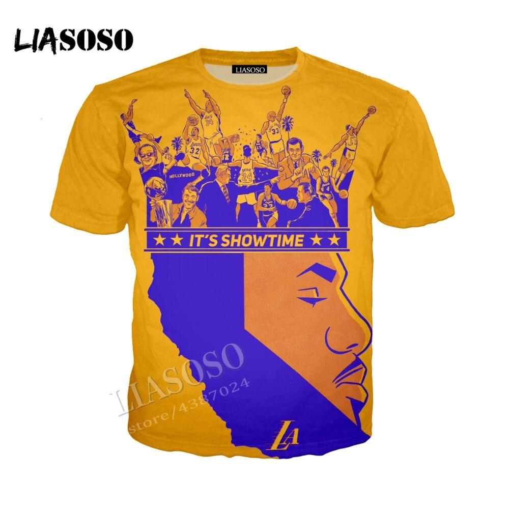 LIASOSO3D print comfortable polyester top famous basketball star King James hoodie men women minimalist sportswear CX203