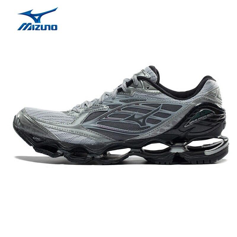 56197e0e943 Homens MIZUNO WAVE PROFECIA 6 Tênis de corrida Almofada Respirável Calçado  Desportivo Tênis J1GC171704 XYP558