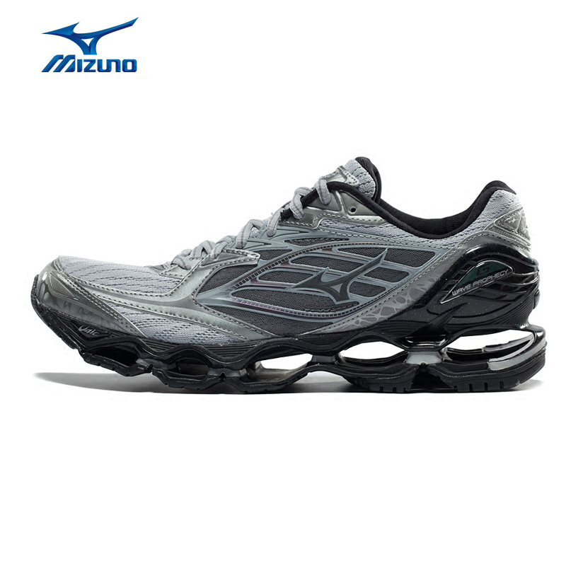 MIZUNO Men WAVE PROPHECY 6 Running Shoes Cushion Breathable Sports Shoes Sneakers J1GC171704 XYP558 mizuno 4 3 2 38 5 43 5 mizuno wave prophecy 4