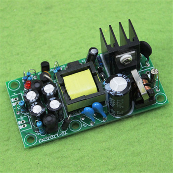 цена 12V 5V isolated switching power supply / AC-DC power supply module / 220V to 12v 5v dual output онлайн в 2017 году