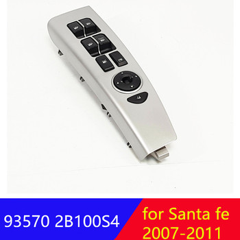 935702B100S4 Front left side Window Main Switch  For Hyundai Santa Fe CM 2007-2011 Door glass lift control switch LH 93570-2B100