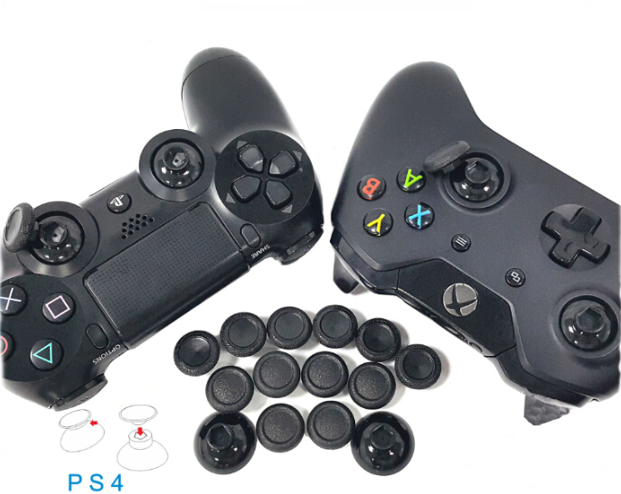2017 Enhanced Removable Durable Thumbsticks Thumb Stick Joystick Caps Covers Custom for Sony PS4 Controller PS4 Slim PS4 Pro
