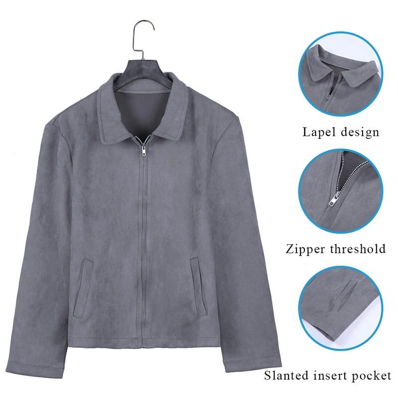 HTB18XiUaET1gK0jSZFrq6ANCXXa4 MJARTORIA 2019 New Fashion Men's Suede Leather Jacket Slim Fit Biker Motorcycle Jacket Coat Zipper Outwear Homme Streetwear