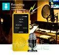 Mahdi M280 HIFI portable 8G music player mp4 mini walkman sports broadcast Can insert card MP3 support WMA WAV OGG APE FLAC