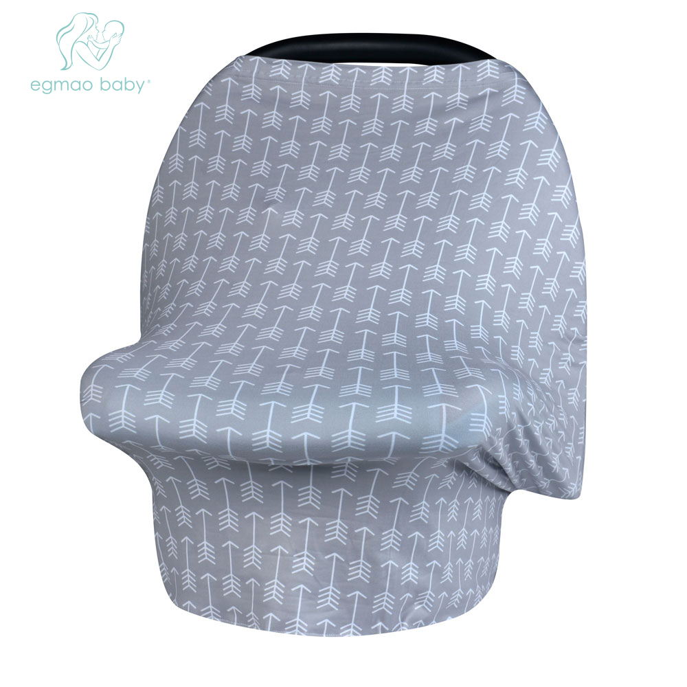 Hot Multi-Use Stretchy Infinit Scarf Baby Car Seat Cover Canopy Nursing baby Breastfeeding Shopping Cart Cover High Chair Cover baby car seat cover canopy nursing cover multi use stretchy infinity scarf breastfeeding shopping cart cover high chair cover