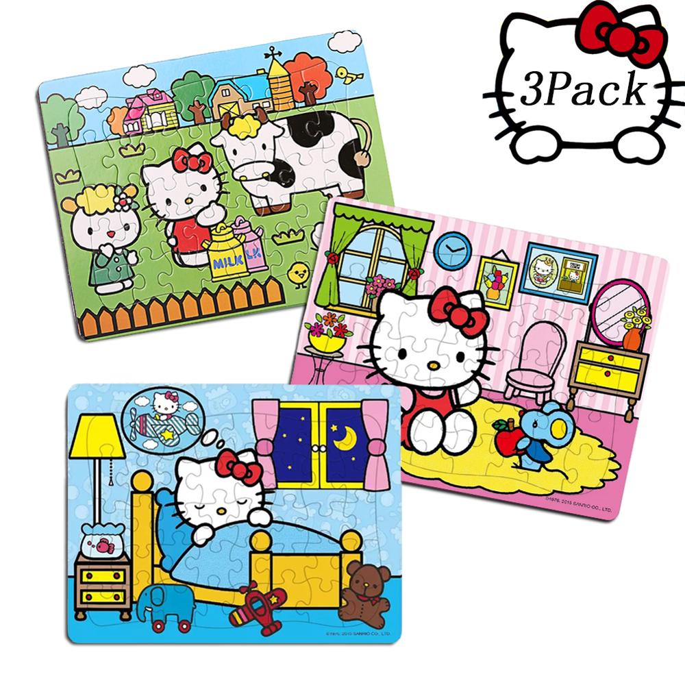 Hello Kitty 40 Piece Jigsaw Puzzle For Kids 4-8 For Children Learning Educational Puzzles Toys