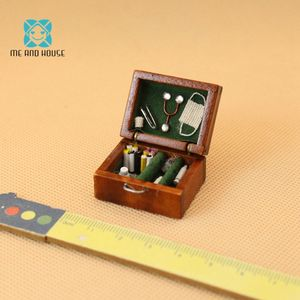 Doll House Miniature Wooden Me
