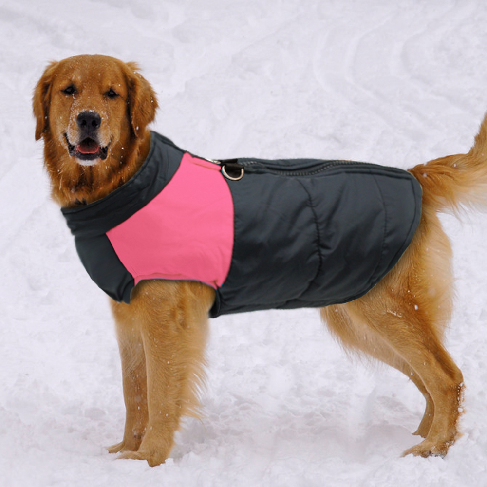 Dog Clothes For Large Big Dog Winter Coat Jacket Dogs Vest