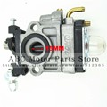 15mm Carb Carburetor & Primer Bulb & Gaskets For 23cc 26cc 33cc Bladez Goped Scooter Mini Dirt Pocket Bike ATV Go Kart 44-5