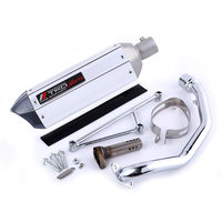SCOOTER SILENCAR MOTORCYCLE EXHAUST GY6 125 GY6 150 YOSHIMURA SCOOTER PARTS MOTORCYCLE MUFFLER 157QMJ 152QMI