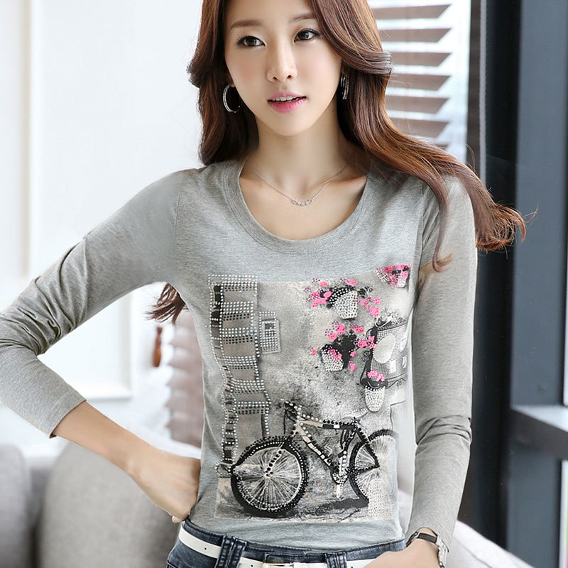 Women's Clothing Women Clothing Black White T-shirt Print Fashion Funny Cy7812 Be Novel In Design