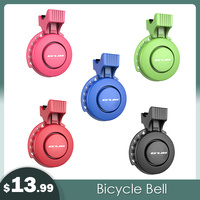 5 Color USB Rechargeable Bicycle Bell Electric 120dB Loud Horn Alarm Whistle Waterproof MTB Bike Handlebar Ring Electronic Horns