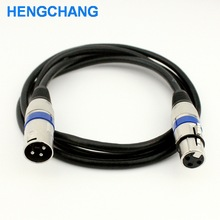3Pins XLR Extension cable Male to Female XLR cable 1 5meter
