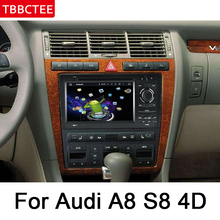 For Audi A8 S8 4D 1994~2003 MMI Multimedia Player HD IPS Screen DSP Stereo Android Car DVD GPS Navi Map Radio WiFi system все цены