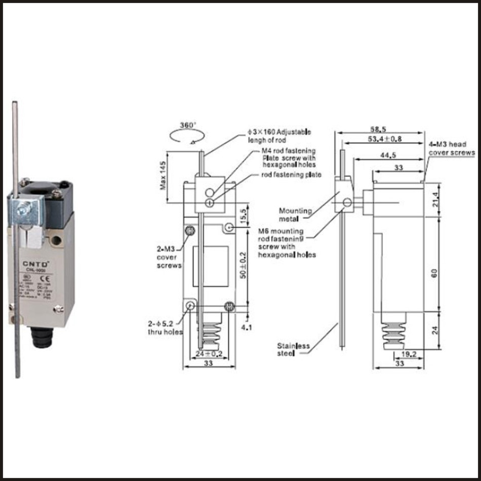 Limit Switch Wiring Diagram Flex A Lite Electric Fan Controller Omron Auto Electrical Symbols Pdf 8 Pin Relay Travel 10a 250v