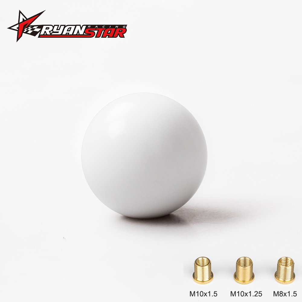 Ryanstar 1pc M10*1.5 Aluminum Shift Knob Boot Retainer//Adapter For Most Automatic Car