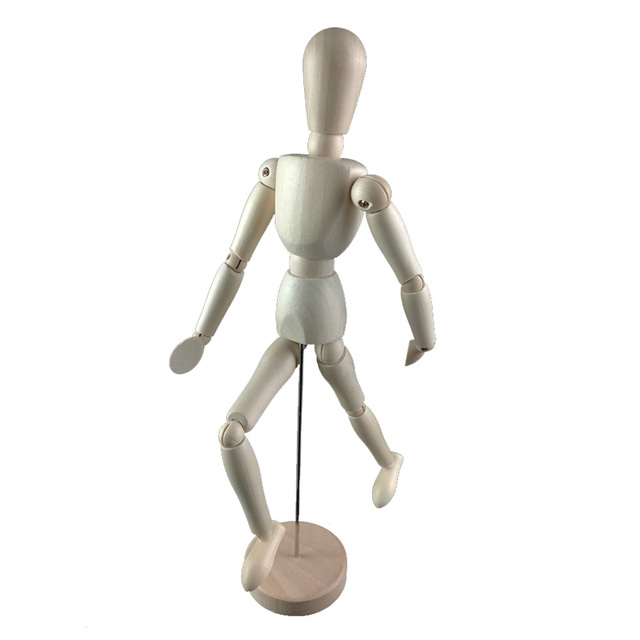 Life Size Wooden Drawing Mannequin   Wooden Thing