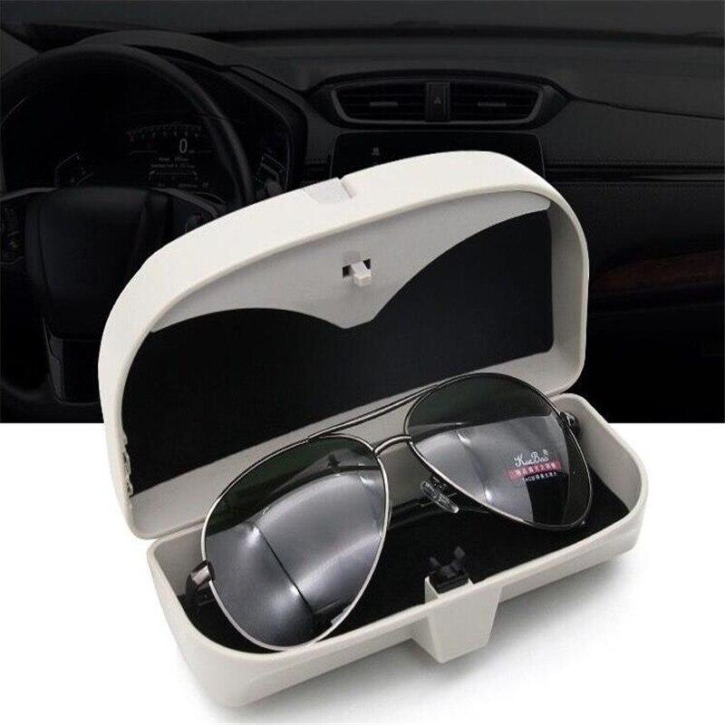 Car Sunglasses Glasses Storage Case Box Holder for Skoda octavia A2 A5 A7 Fabia Rapid Yeti Superb