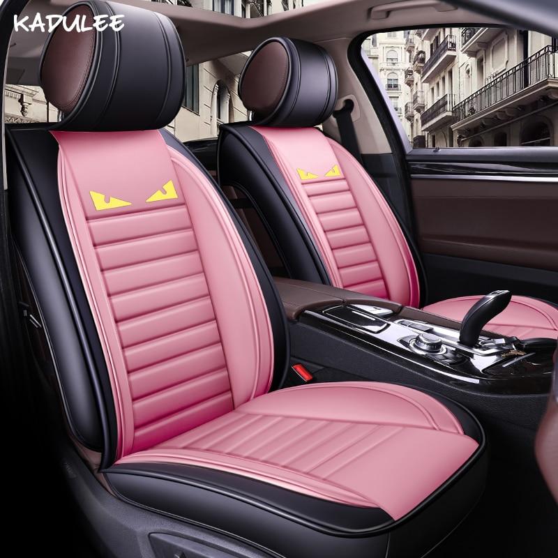 KADULEE auto car seat cover for chery tiggo t11 citroen c4 picasso ford ranger 2017 nissan tiida car seat protector car styling deppa sky case чехол для apple iphone 5 5s purple