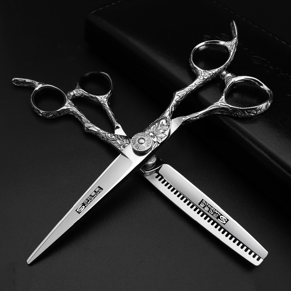 hairdressing scissors 440c 6