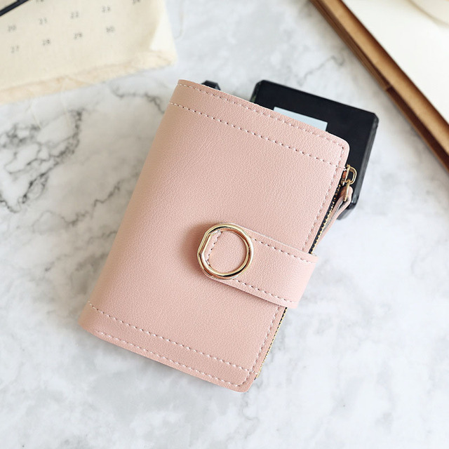 Women Small Wallets Leather...