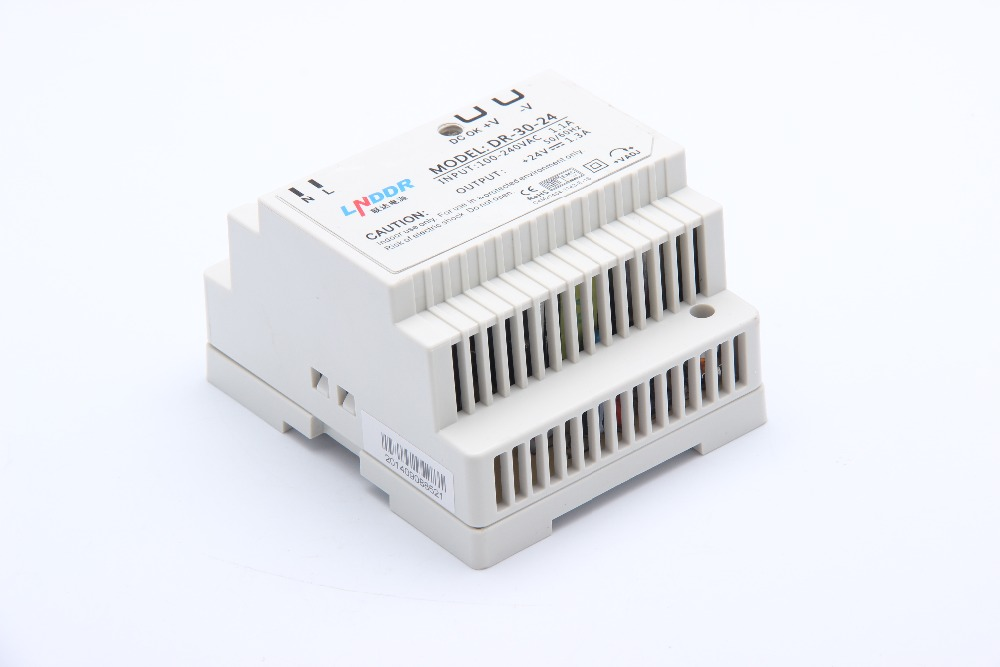 DR-30 Din rail power supply 30w ac dc converter 5V 12V 24V dr 240 din rail power supply 240w 24v 10a switching power supply ac 110v 220v transformer to dc 24v ac dc converter