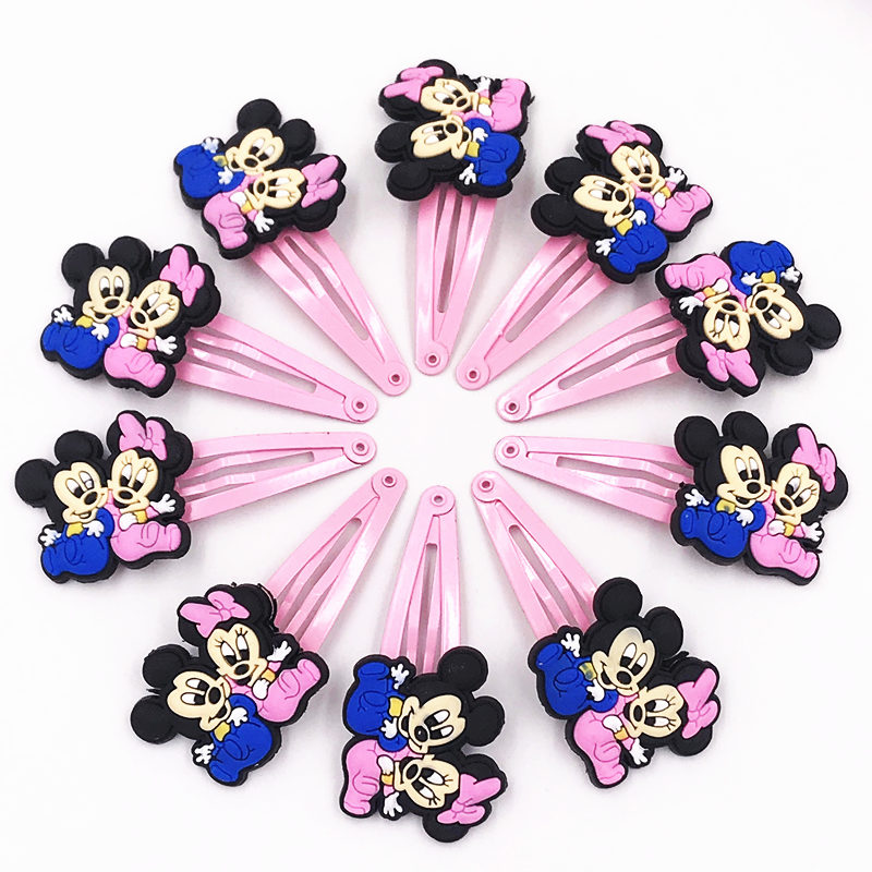 10pcs Mickey Minnie Hello Kitty Cat Pvc Elastic Rubber Hair Bands Girls Scrunchie Hair Accessories Accesorios Para El Cabello Girls' Clothing Back To Search Resultsmother & Kids