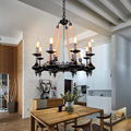 Loft Rope Chandelier lights Industrial lamps Cafe Bar Lighting Home Lighting Hanglampen Lampara Vintage Hanging Lamps Hanglamp