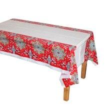 Disposable Plastic Table Cloths Eid al-Fitr Ramadan Table Cover Tablecloth Waterproof For Moslem Islamism Decoration 180*108cm