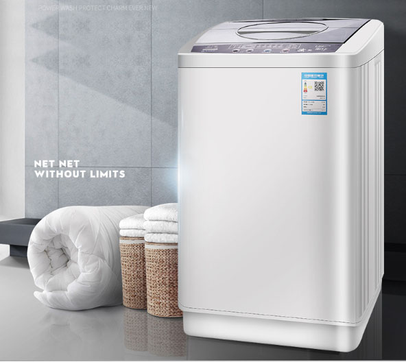 Automatic Washing Machine  Household Disinfection Wave Wheel Air-dried Blue Light Sterilization