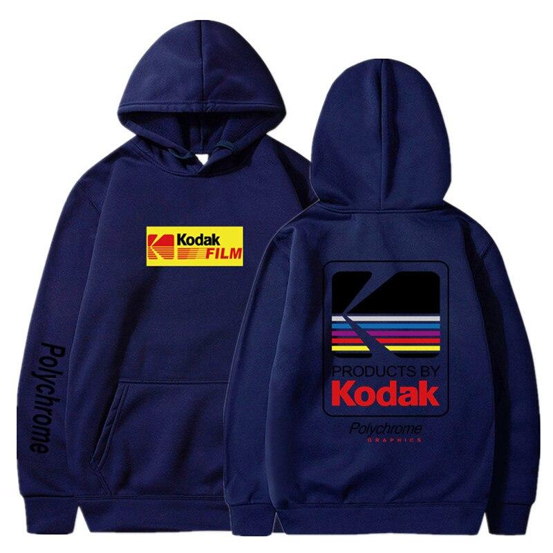Japanese Hip Hop Winter Fleece Hoody Harajuku kodak Jackets Men Women Sweatshirts 31