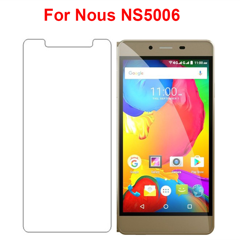 Tempered Glass For <font><b>Nous</b></font> <font><b>NS5006</b></font> Screen Protector Ultra-thin 9H 2.5D Explosion-proof front LCD for <font><b>Nous</b></font> NS 5006 5